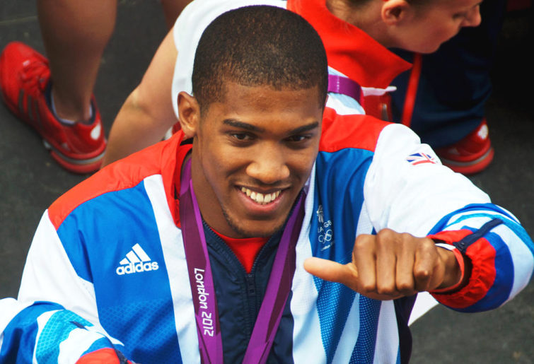 Anthony Joshua London 2012