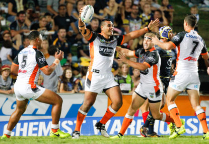 Cronulla Sharks vs Wests Tigers highlights: NRL live scores, blog