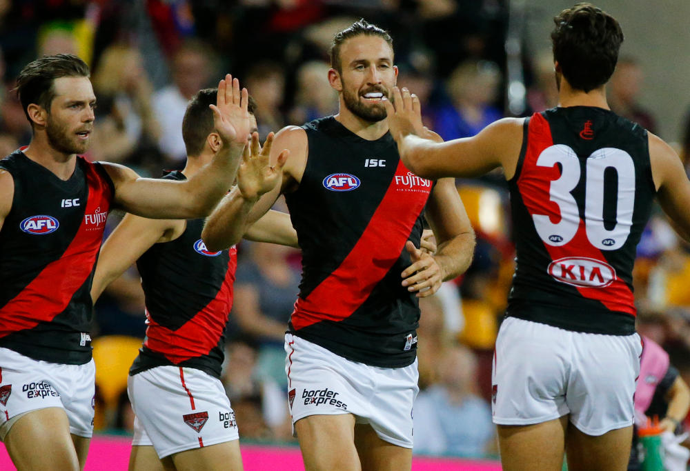 Cale Hooker Essendon Bombers AFL 2017