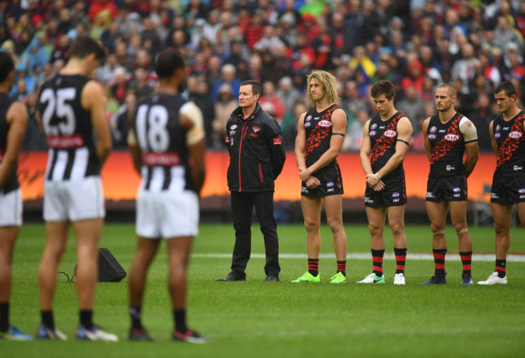 Essendon Bombers AFL ANZAC Day 2017