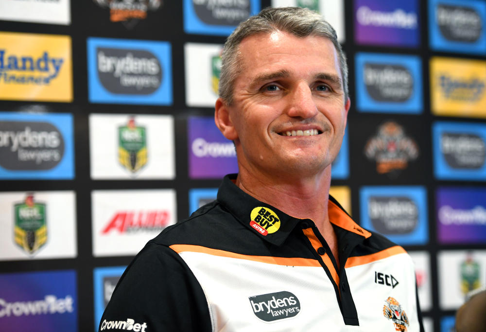 Ivan Cleary NRL Rugby League Wests Tigers 2017