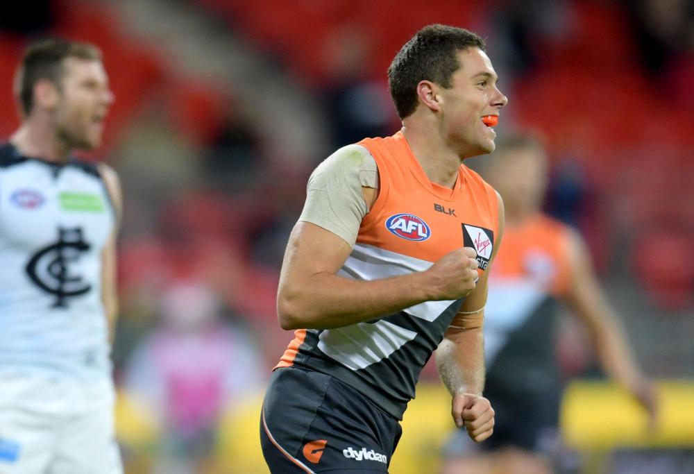 Josh Kelly GWS Giants AFL 2016