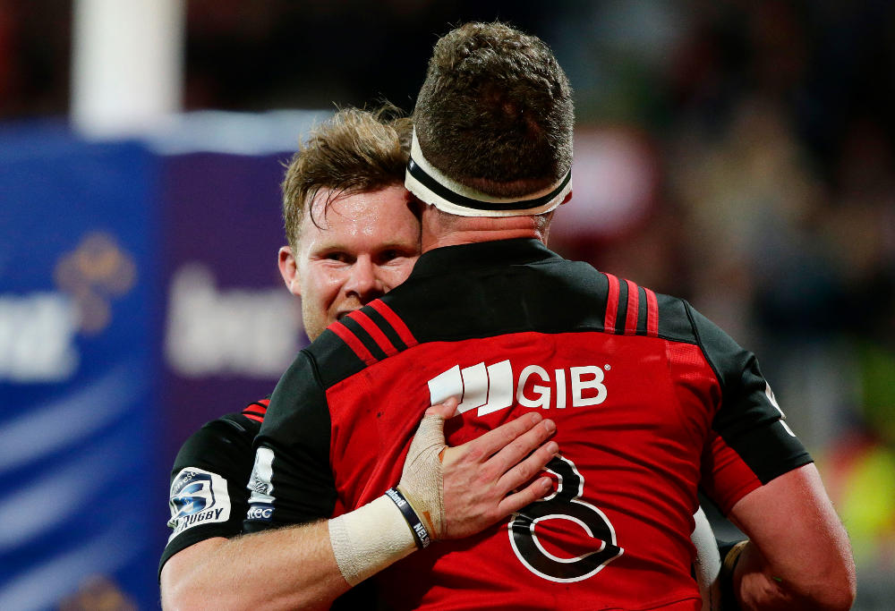 Mitchell Drummond Crusaders Super Rugby Union 2017