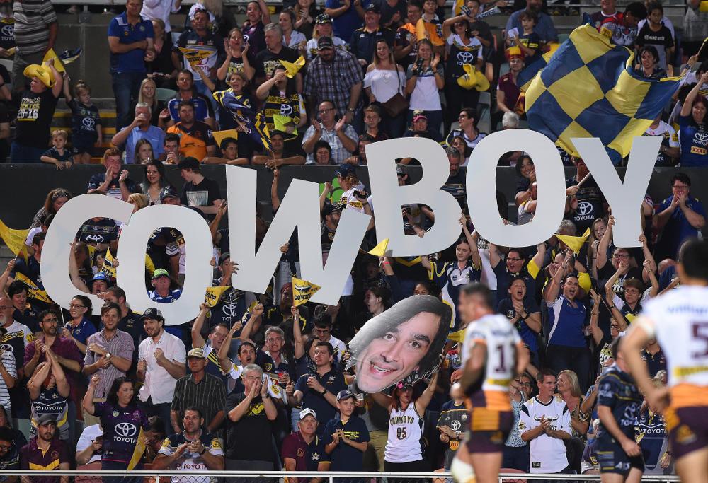 North Queensland Cowboys fans NRL 2016