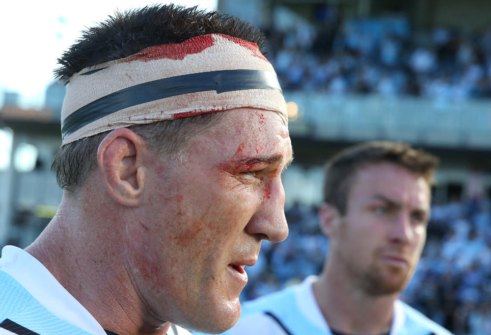 Paul Gallen Cronulla Sharks NRL Rugby League 2017