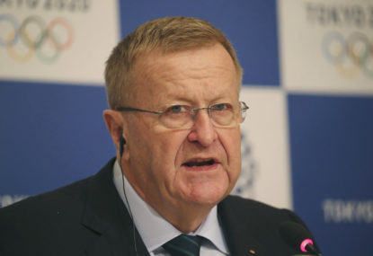 Who should succeed John Coates in 2021 as AOC President?