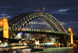 Racing on the Harbour Bridge: A cunning stunt?