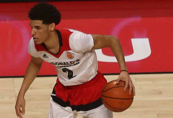 NBA college basketball player Lonzo Ball
