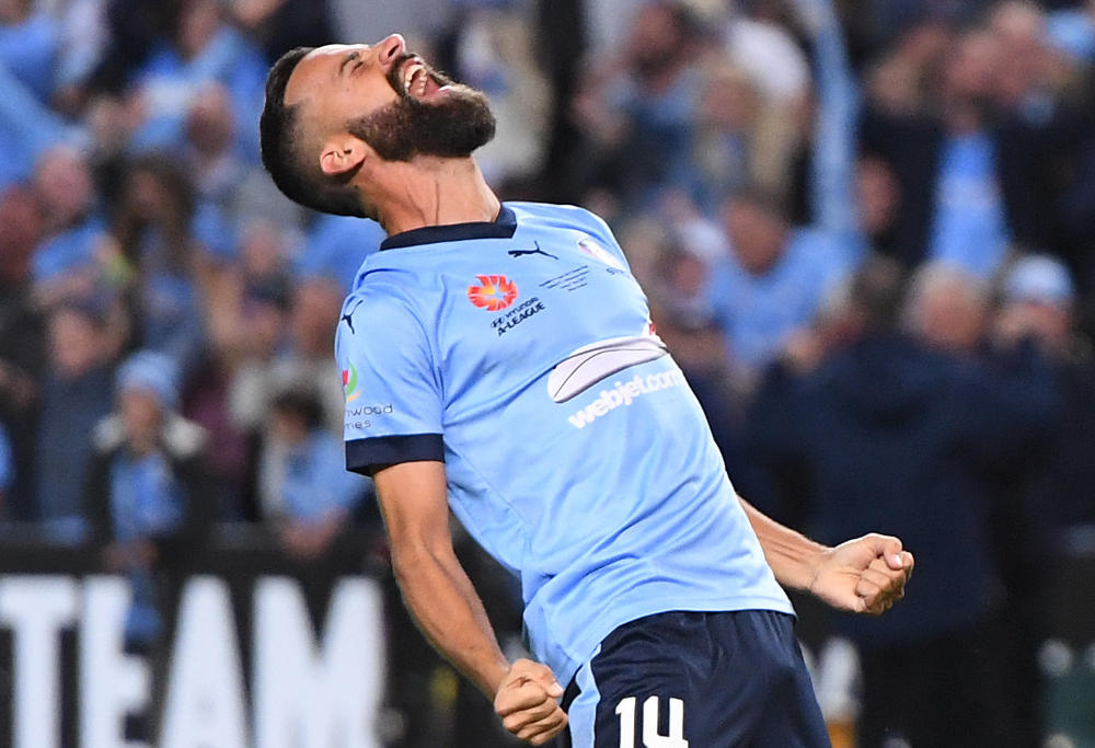 Alex Brosque Sydney FC A-League Grand Final 2017