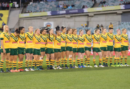 Australia vs New Zealand: 2017 Women's Rugby League World Cup live scores, blog