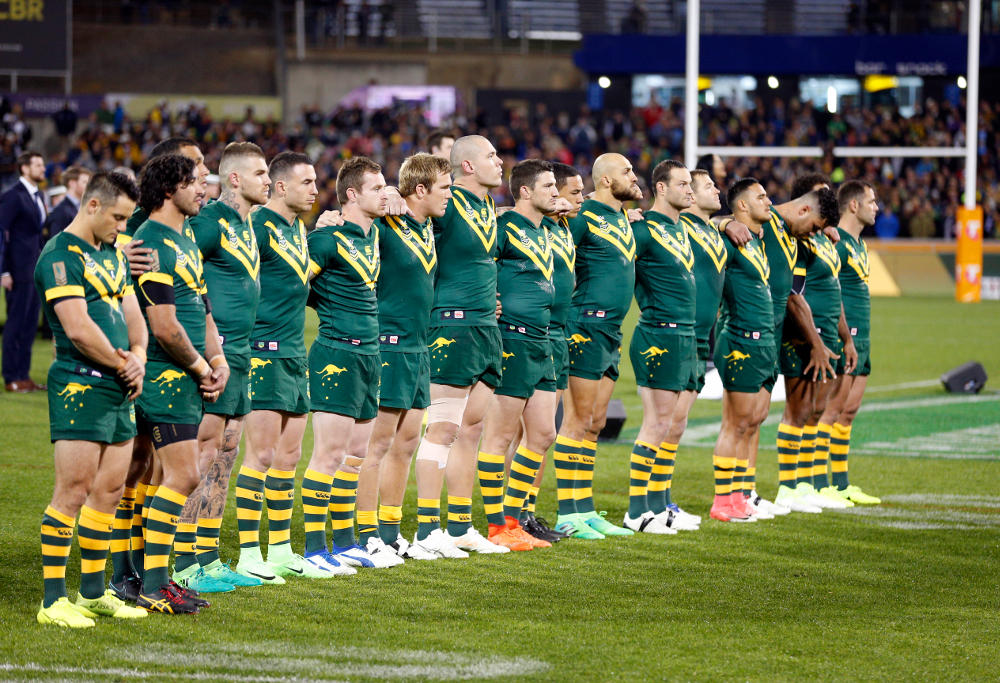 Australia Kangaroos Rugby League Anzac Test 2017 1