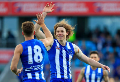 North Melbourne Kangaroos vs Melbourne Demons Highlights: AFL live scores, blog