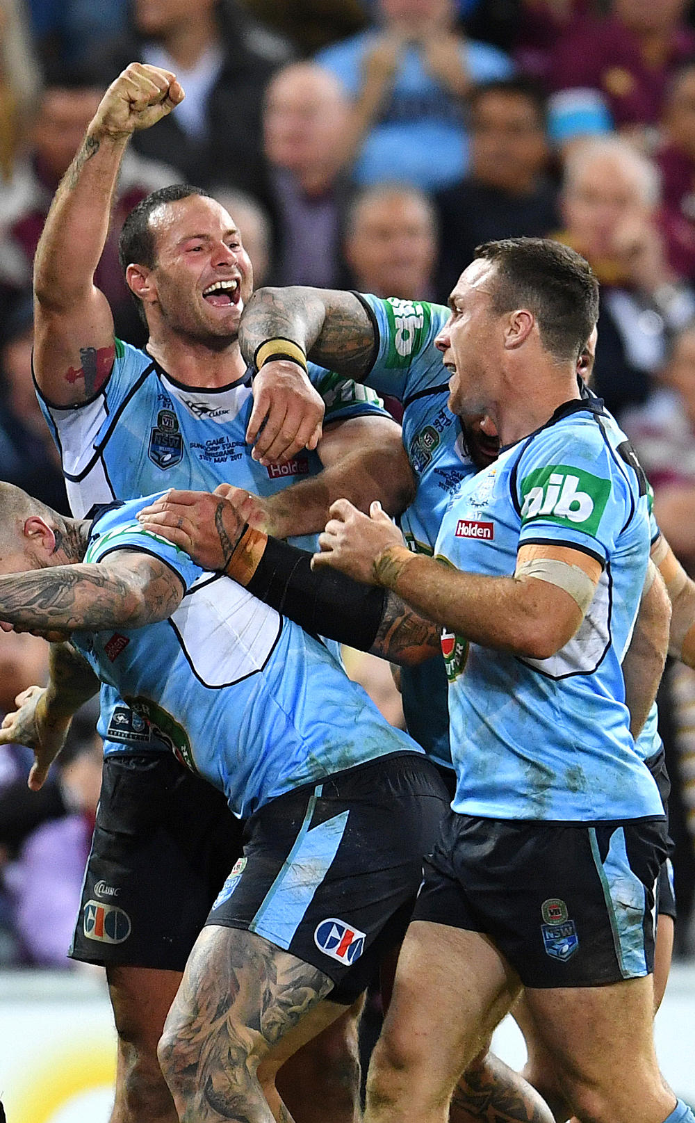 Boyd Cordner NSW Blues State of Origin NRL Rugby League 2017 tall