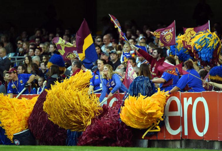 Brisbane Lions fans AFL