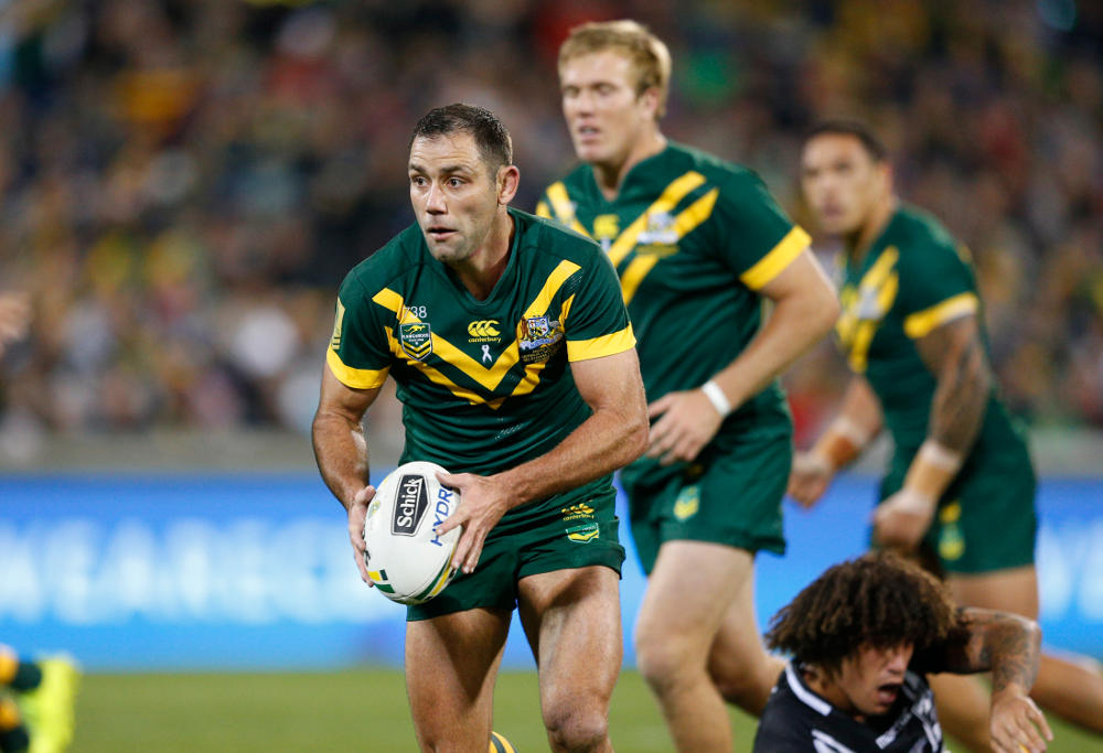 Cameron Smith Australia Kangaroos Rugby League Anzac Test 2017