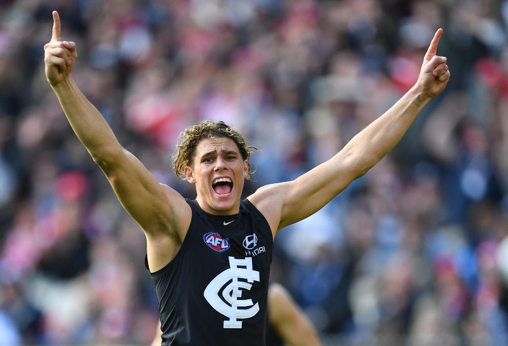 Charlie Curnow Carlton Blues AFL 2017