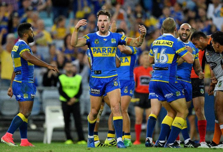 Clint Gutherson Parramatta Eels NRL Rugby League 2017