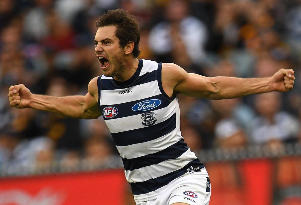 Daniel Menzel Geelong Cats AFL 2017