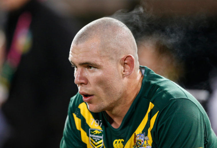 David Klemmer Australia Kangaroos Rugby League Anzac Test 2017