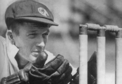 The summer of '48 and two of the greatest wicketkeepers of all time