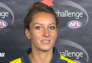 Female AFL umpire ready to make history