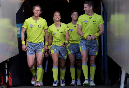 It's time the AFL employed full-time umpires