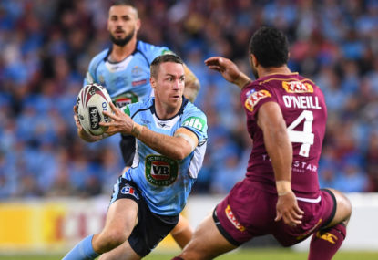 WATCH: James Maloney sent to the sin bin for 'professional foul' on Slater