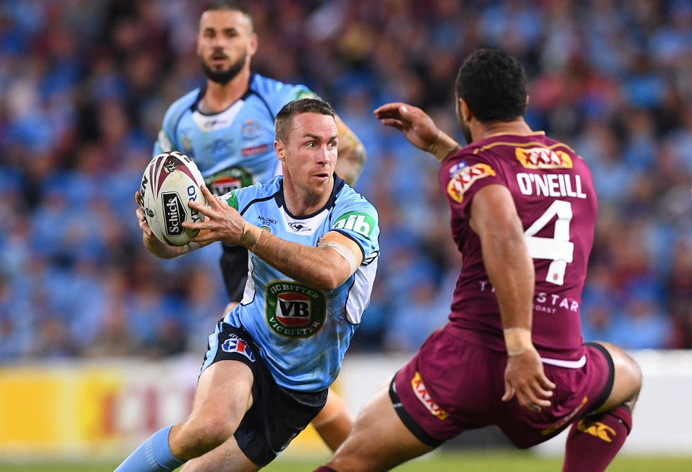 James Maloney NSW Blues State of Origin NRL Rugby League 2017