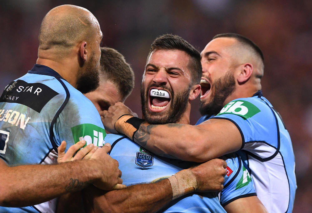 James Tedesco NSW Blues State of Origin NRL Rugby League 2017