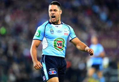 The split-second decision that sums up Jarryd Hayne