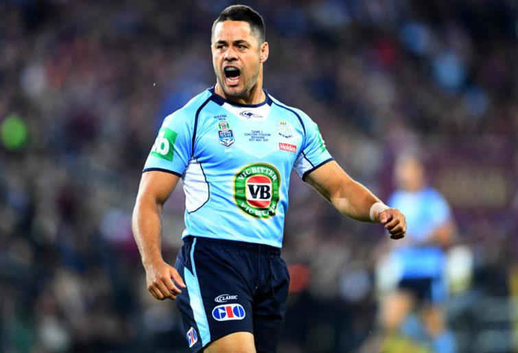 Jarryd Hayne NSW Blues State of Origin NRL Rugby League 2017