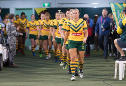 Australia vs Canada: Women's Rugby League World Cup semi-final live scores, blog