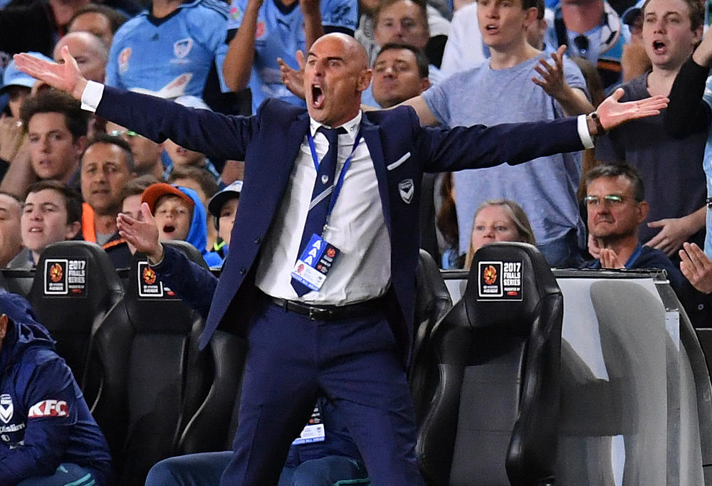 Kevin Muscat Melbourne Victory A-League Grand Final 2017