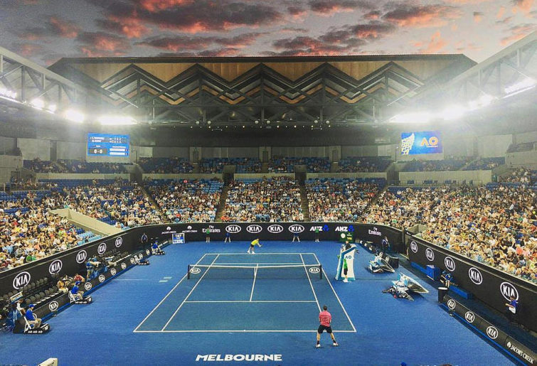 Margaret Court Arena Tennis Australian Open 2017
