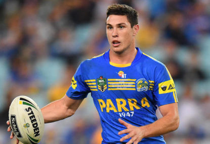 The Eels narrowly avoid the wooden spoon in NRL spine rankings