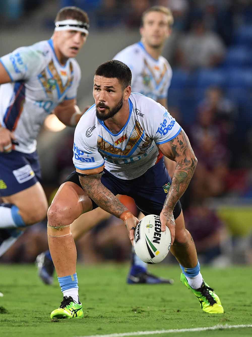 Nathan Peats for the Gold Coast Titans
