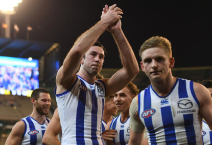 Why North Melbourne are stuck in a vicious cycle