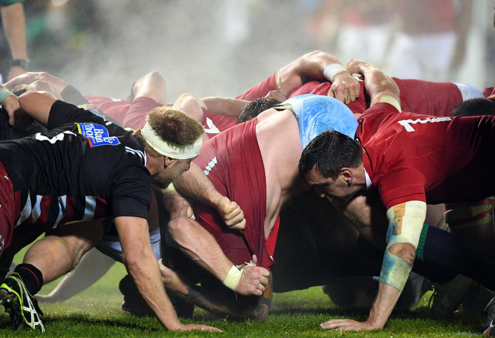 British and Irish Lions New Zealand Barbarians Rugby Union 2017 Generic rugby image
