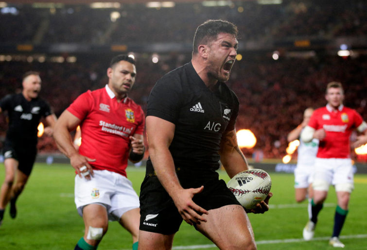 Codie Taylor All Blacks New Zealand Rugby Union 2017