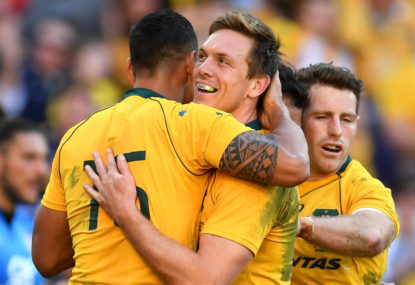 TELL US: What are the positive signs for the Wallabies?