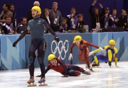 How Steven Bradbury became the most famous Aussie winter Olympian