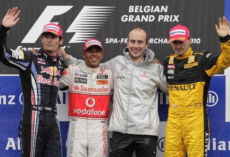 Podium Formula One