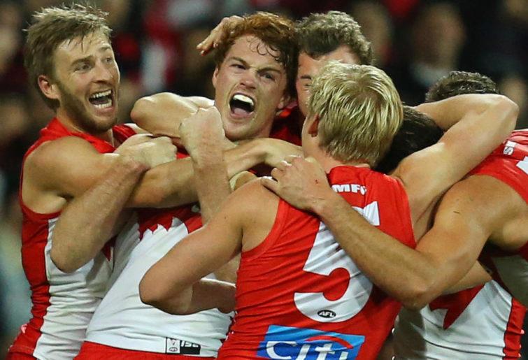 Gary Rohan Sydney Swans AFL 2017