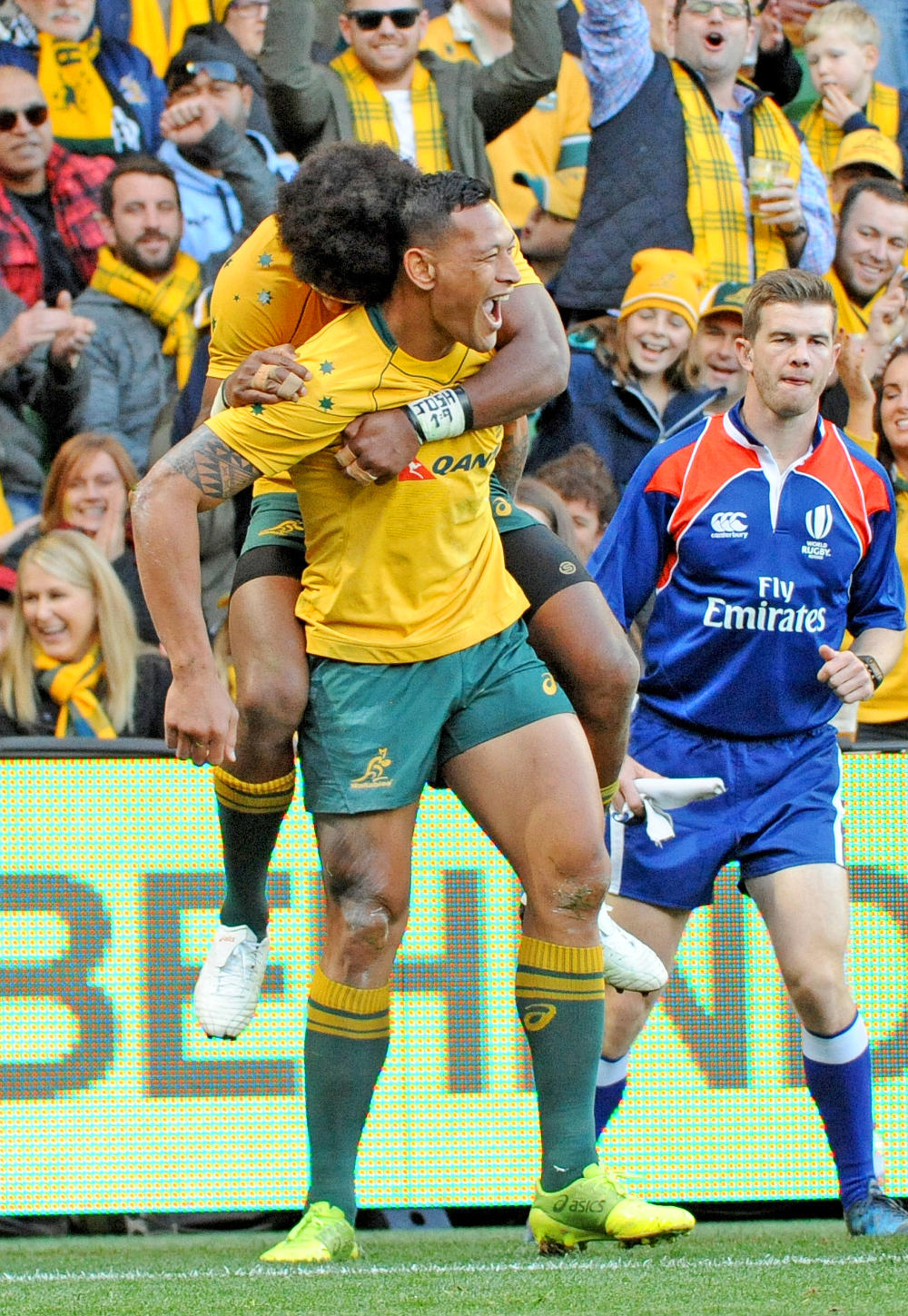 Israel Folau Wallabies Australian Rugby Union 2017 tall