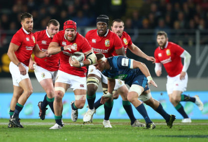 Probable Lions squad for first All Blacks Test