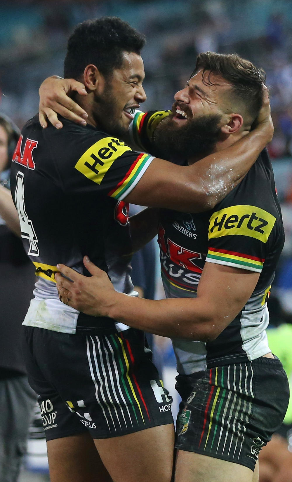 Josh Mansour Waqa Blake Penrith Panthers NRL Rugby League 2017 tall