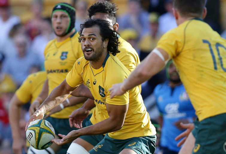 Karmichael Hunt Wallabies Australia Rugby Union 2017