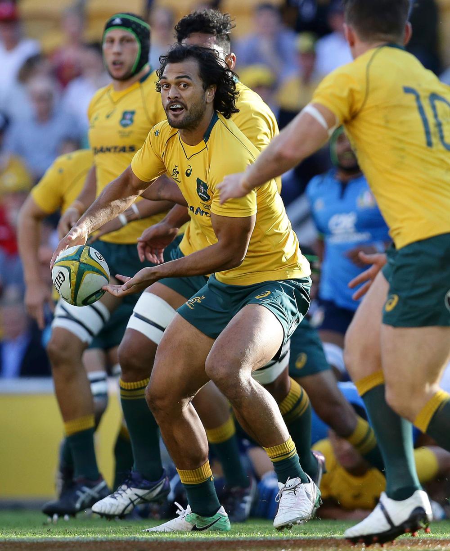 Karmichael Hunt Wallabies Australia Rugby Union 2017 tall