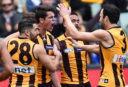 Hawthorn Hawks vs Collingwood Magpies: AFL live scores, blog