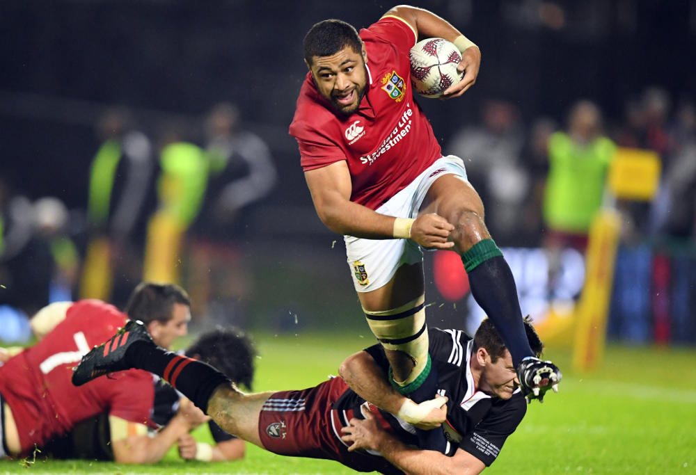 Toby Faletau British and Irish Lions Rugby Union 2017